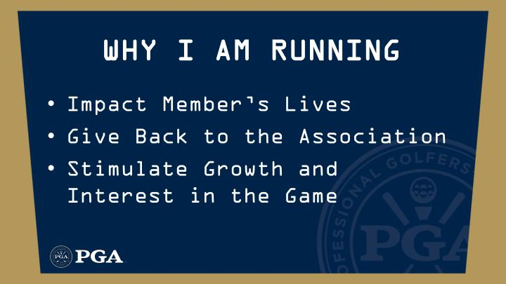 WHY I AM RUNNING
