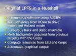 original lpfs in a nutshell