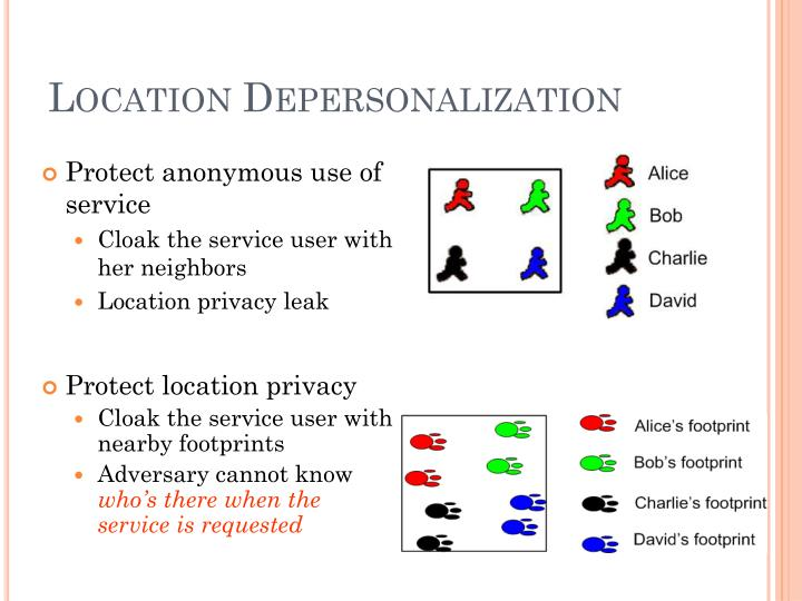 Location Depersonalization
