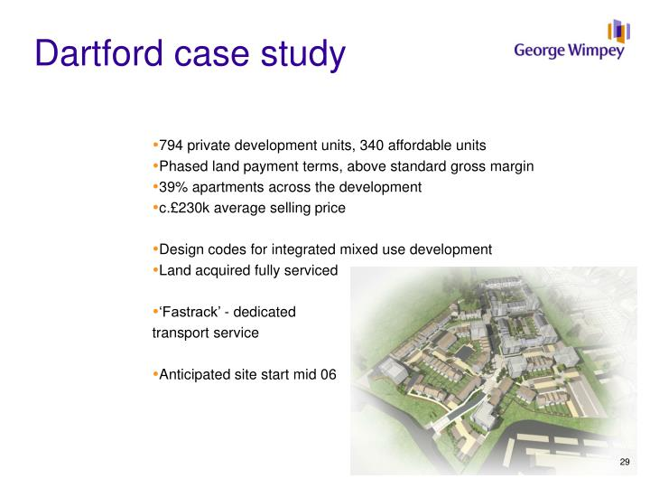 Dartford case study