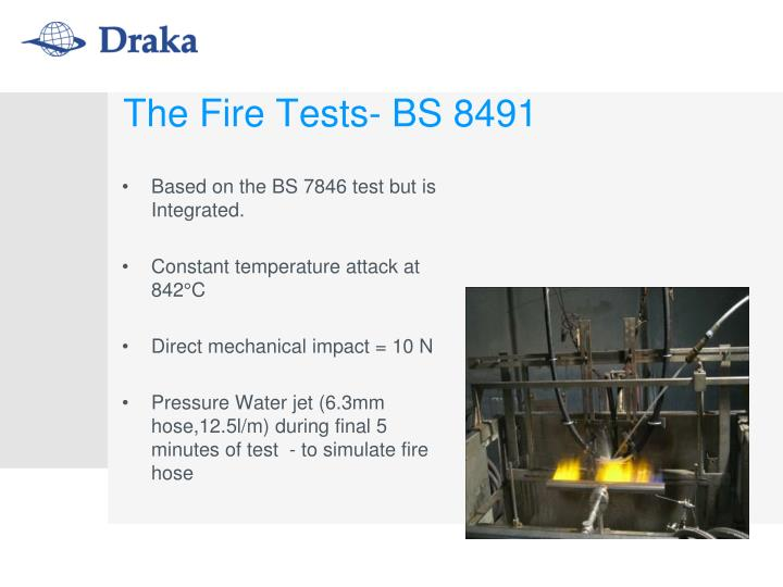 Based on the BS 7846 test but is Integrated.