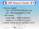 arp request header1