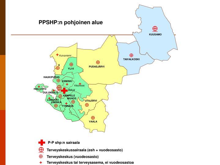 PPSHP:n pohjoinen alue