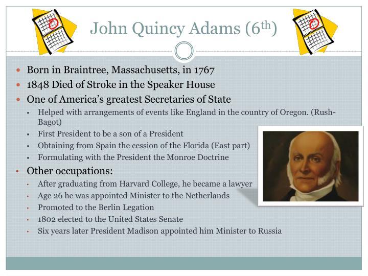 John Quincy Adams (6