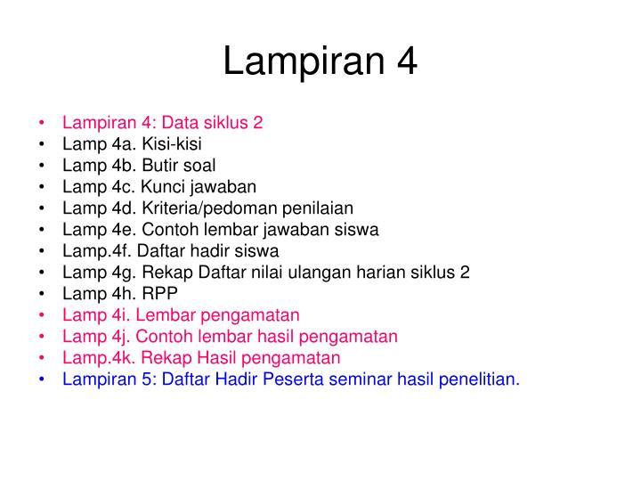 Lampiran 4