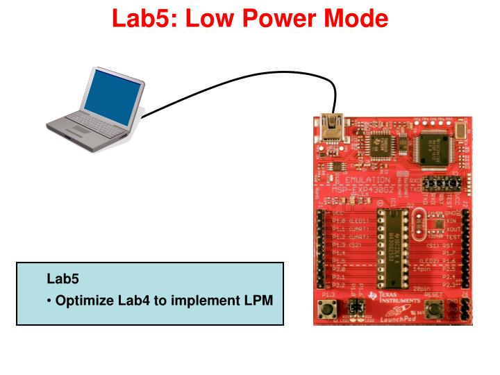 Lab5: Low Power Mode
