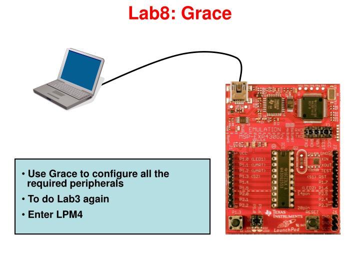 Lab8: Grace