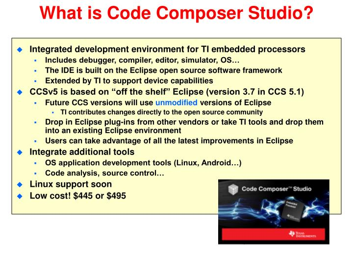 What is Code Composer Studio?