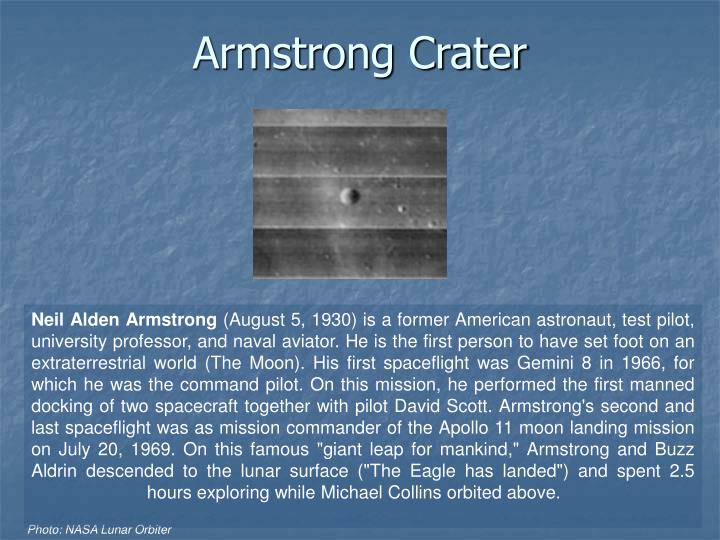 Armstrong Crater