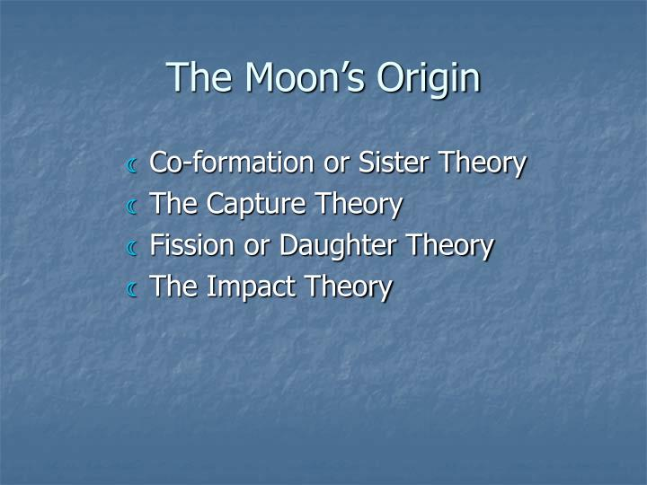 The Moon's Origin