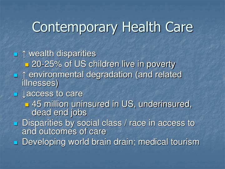 Contemporary Health Care