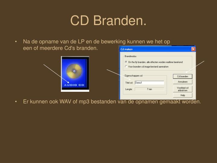 CD Branden.