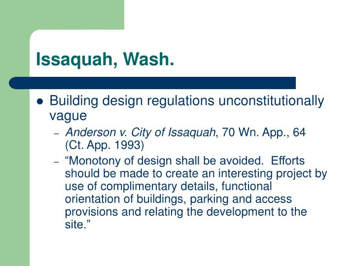 Issaquah, Wash.