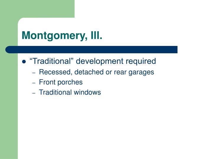 Montgomery, Ill.