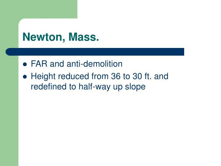 Newton, Mass.