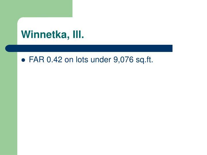 Winnetka, Ill.