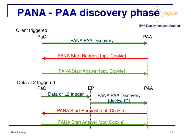 PANA - PAA discovery phase