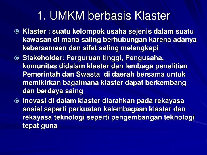 1. UMKM