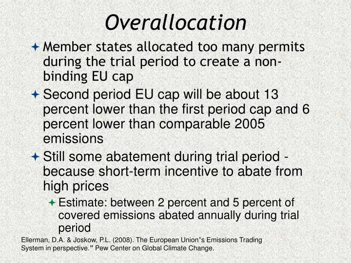 Overallocation