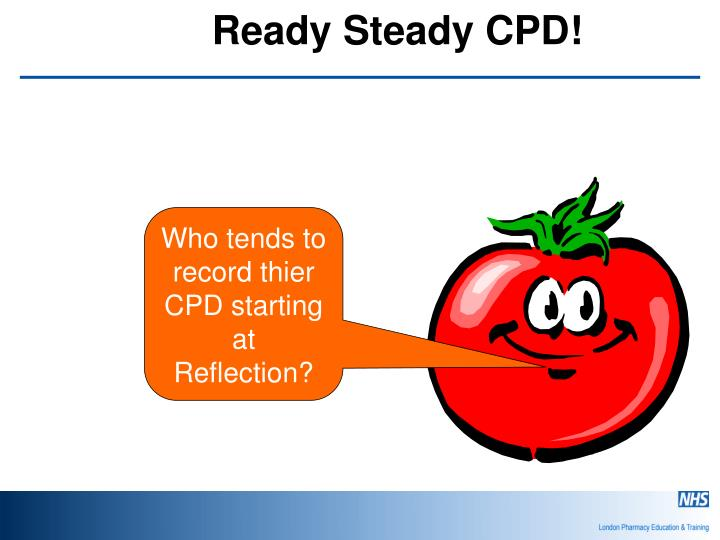 Ready steady cpd2