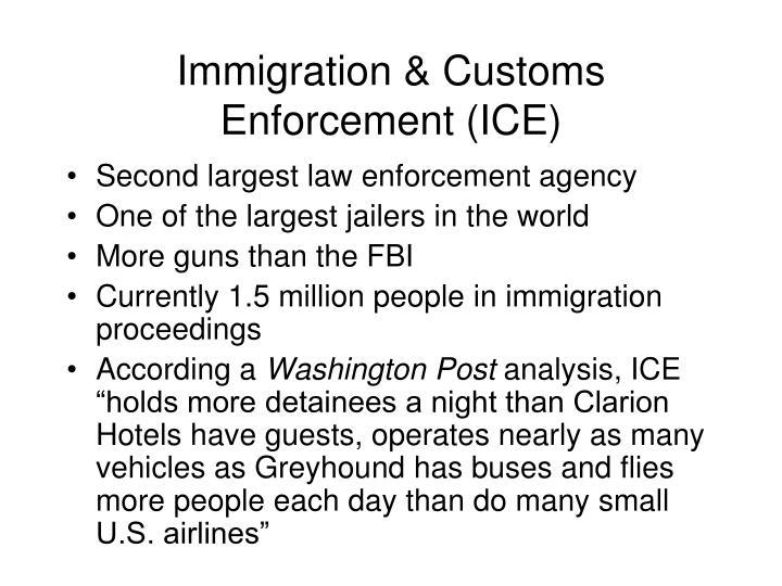 Immigration & Customs Enforcement (ICE)