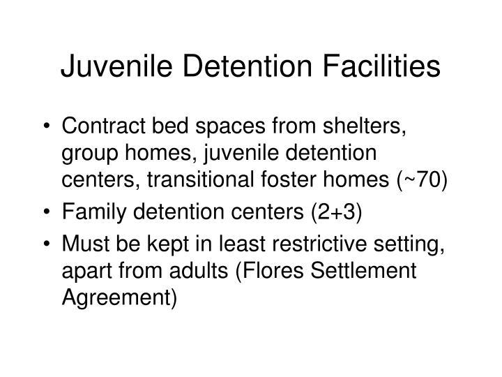 Juvenile Detention Facilities