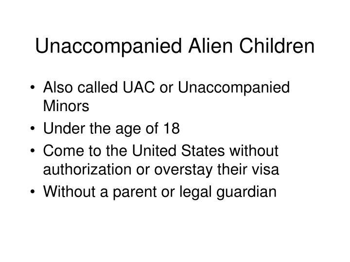 Unaccompanied Alien Children