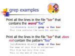 grep examples2