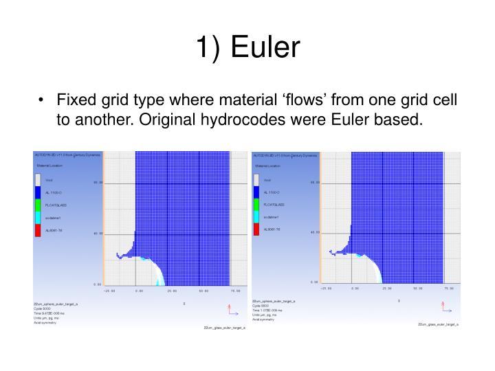 1) Euler