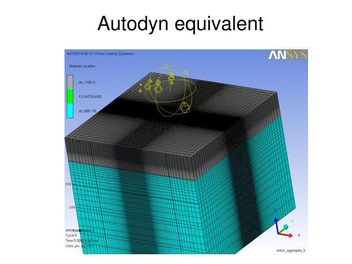 Autodyn equivalent