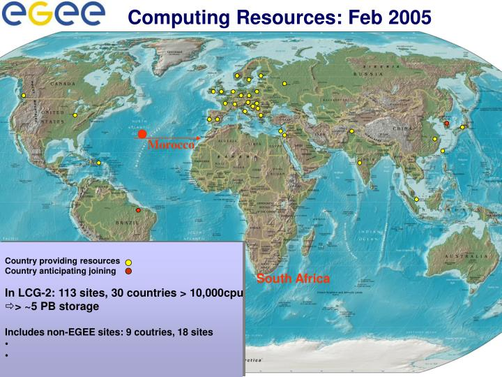 Computing Resources: Feb 2005