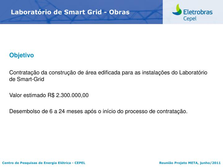 Laboratrio de Smart Grid - Obras