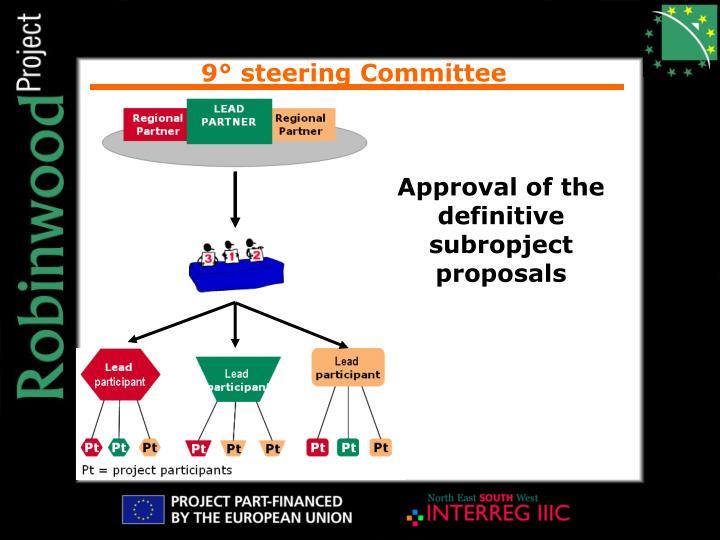 9° steering Committee
