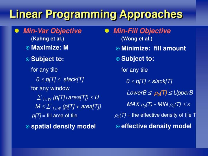 Min-Var Objective