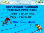 keputusan pusingan pertama ping pong4