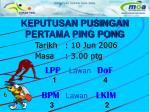 keputusan pusingan pertama ping pong5