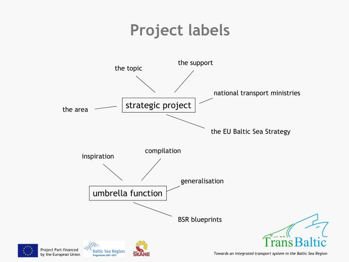 Project labels
