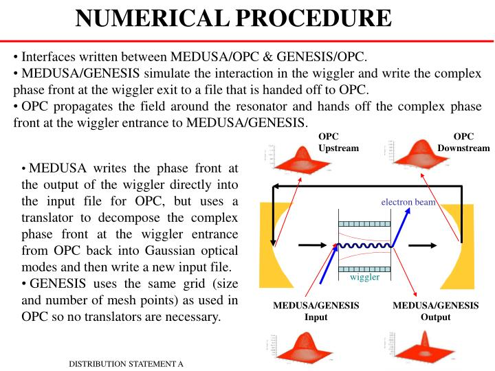 NUMERICAL PROCEDURE