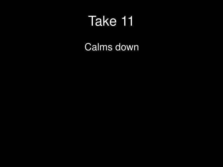 Take 11