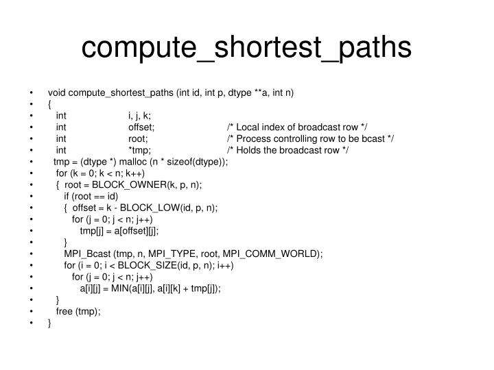 compute_shortest_paths