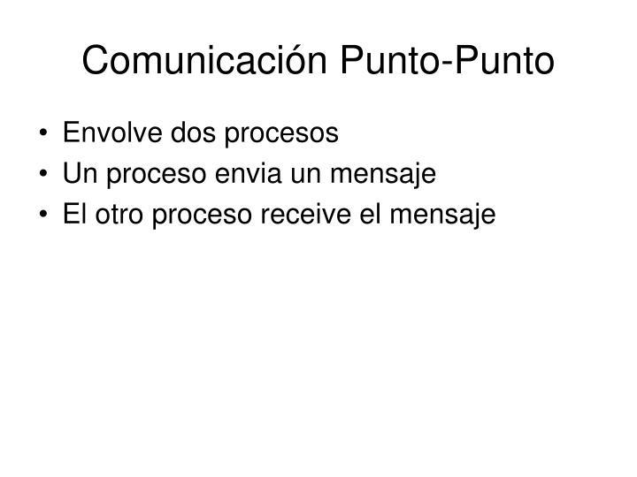Comunicación Punto-Punto