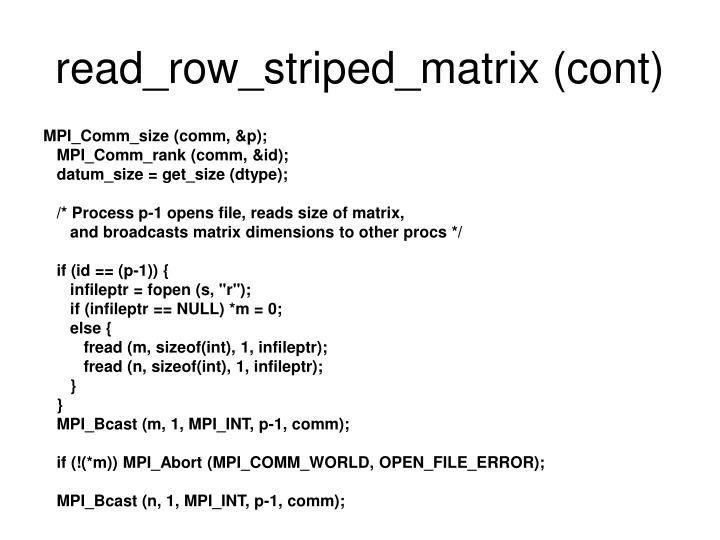 read_row_striped_matrix (cont)