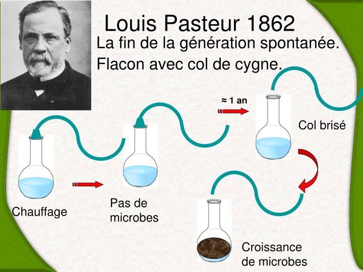 Louis Pasteur 1862