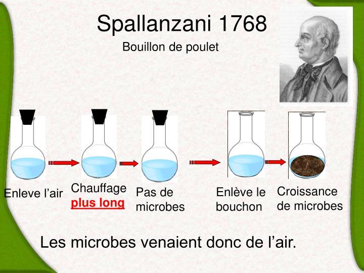 Spallanzani 1768