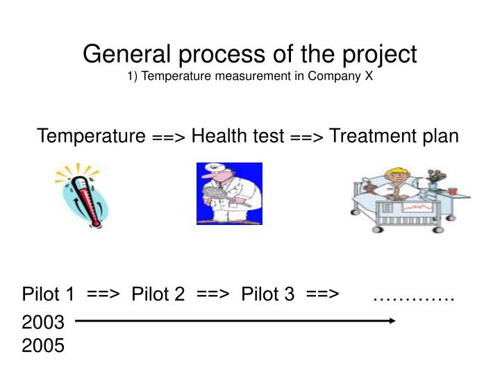 General process of the project