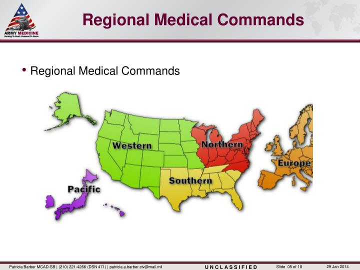 Regional Medical Commands