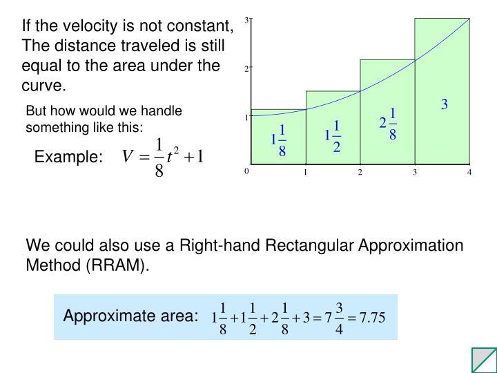 Approximate area: