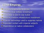 land empires