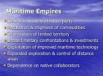 maritime empires