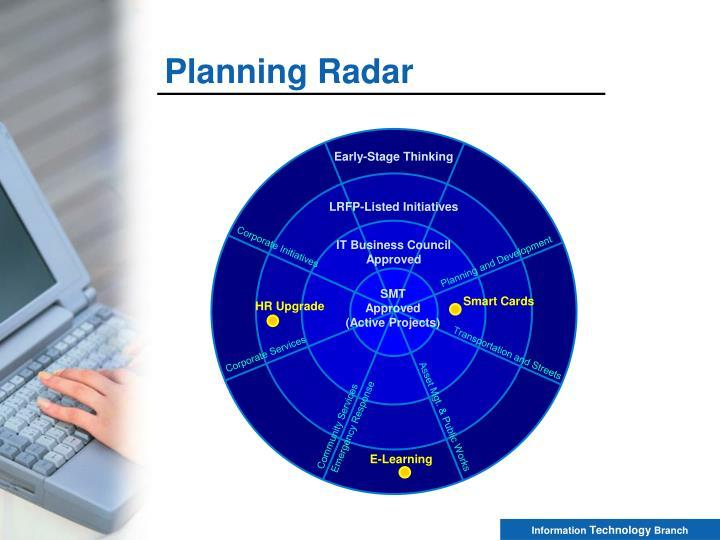Planning Radar
